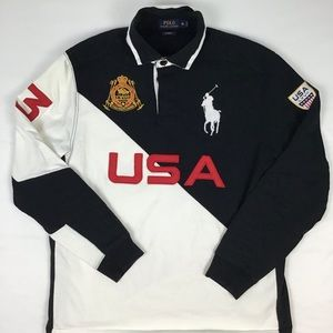 Ralph Lerann rugby long sleeve